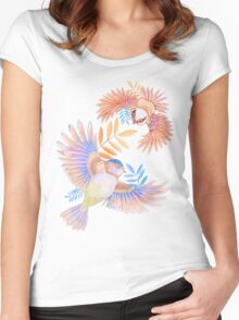 Birds of Paradise Women's Fitted Scoop T-Shirt