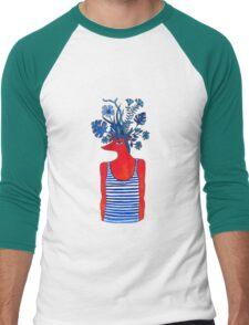 Flowery fox Men's Baseball ¾ T-Shirt