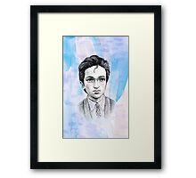 Sci-Fi boyfriend Mulder Framed Print