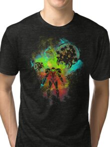 Bounty Hunter Art Tri-blend T-Shirt