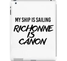 Richonne is canon. iPad Case/Skin