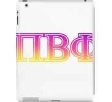pi beta phi piphi sorority sticker iPad Case/Skin