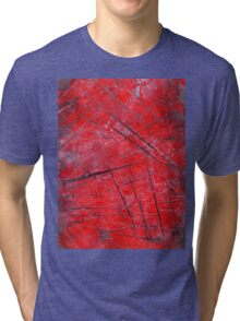 "Abstract - ""Crossing"" Tri-blend T-Shirt"