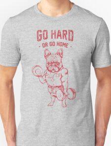 Pug go hard Unisex T-Shirt
