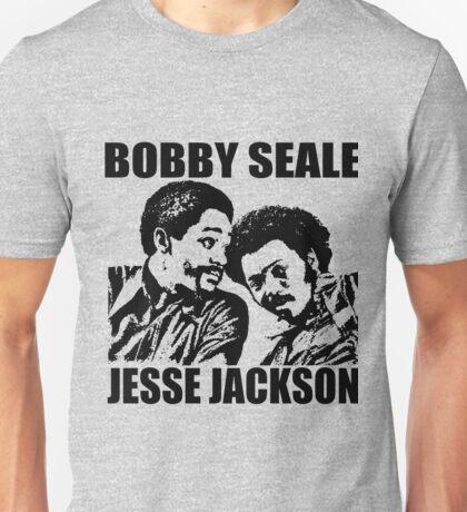 Bobby Seale and Jesse Jackson Unisex T-Shirt