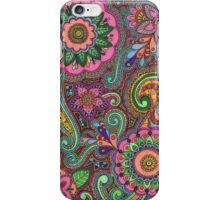 Colour Mendhi iPhone Case/Skin