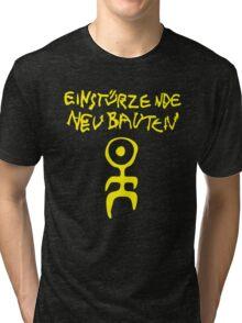 retro einsturzende neubauten Tri-blend T-Shirt