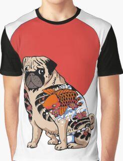 YAKUZA PUG Graphic T-Shirt