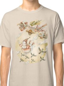 kite girl fly Classic T-Shirt