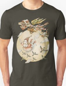 Flying girl kite T-Shirt
