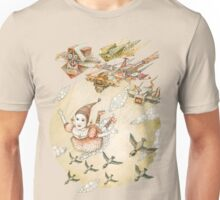 kite girl fly Unisex T-Shirt