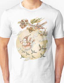 kite girl fly Unisex T-Shirt