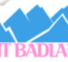 Visit Badlands Halsey Sticker