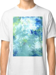 "Abstract - ""Listening"" Classic T-Shirt"