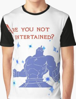 Quotes and quips - are you not entertained - Armstrong Graphic T-Shirt