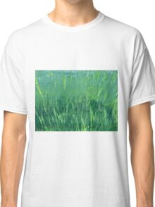 """Abstract - """"Living"""" Classic T-Shirt"""