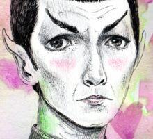 Sci-Fi boyfriend Spock Sticker