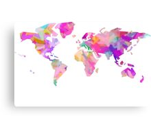 world Canvas Print