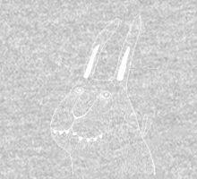 Night Bunny Moth One Piece - Long Sleeve