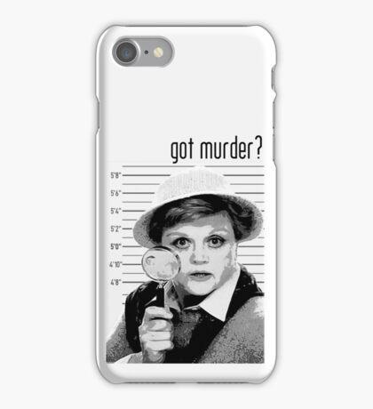 Got Murder? iPhone Case/Skin