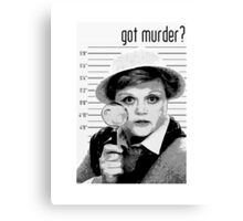 Got Murder? Canvas Print