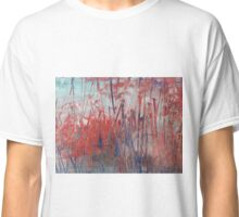 "Abstract - ""Red Marsh"" Classic T-Shirt"