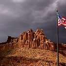 The Castle at Capitol Reef National Park, Utah by Alex Preiss