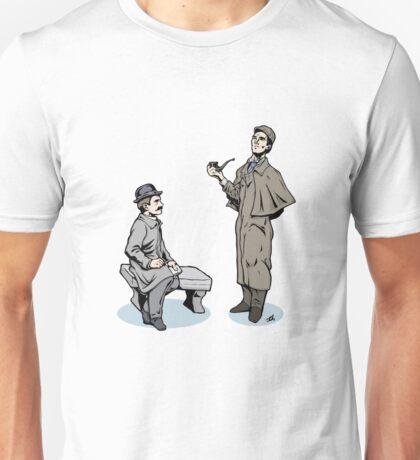 Victorian Sherlock and Watson Unisex T-Shirt
