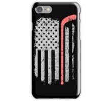Hockey USA Flag iPhone Case/Skin