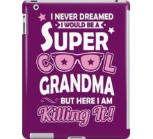 Super Cool Grandma iPad Case/Skin