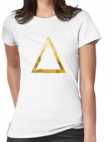Delta Sign - Gold Edition Womens Fitted T-Shirt
