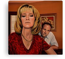 The Sopranos Painting Canvas Print