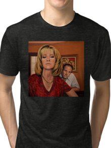 The Sopranos Painting Tri-blend T-Shirt