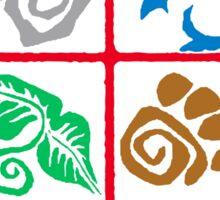 Outdoor School Logo (fcb) Sticker