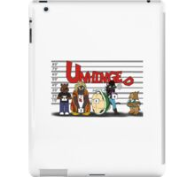 Unhinged Character Line-Up iPad Case/Skin