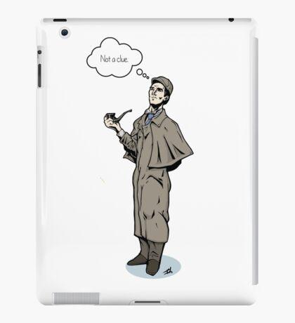 Victorian Sherlock - Not a clue.  iPad Case/Skin