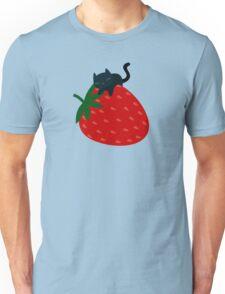 Strawberry Cat Unisex T-Shirt
