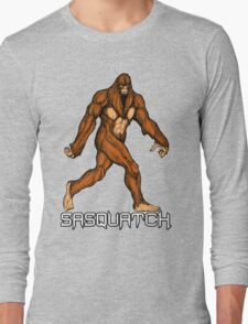Sasquatch Walk Long Sleeve T-Shirt