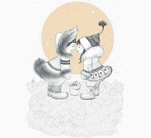Kiss eskimo Unisex T-Shirt