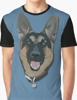 German Shepherd Graphic T-Shirt