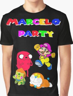 MARCELO PARTY Graphic T-Shirt