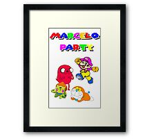 MARCELO PARTY Framed Print
