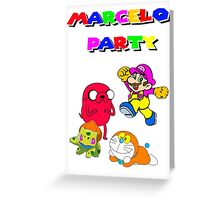 MARCELO PARTY Greeting Card