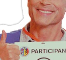 "Chris Traeger ""I'm Dead"" Sticker"
