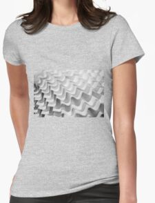 Paper Waves Womens Fitted T-Shirt
