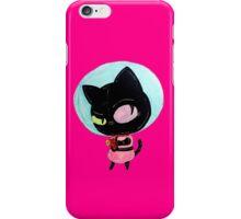 cookie cat's got a raygun iPhone Case/Skin