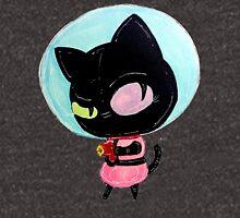 cookie cat's got a raygun Unisex T-Shirt