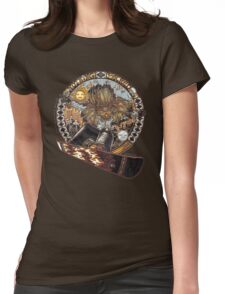 Nothing Sacred Native Snowboarder Womens Fitted T-Shirt