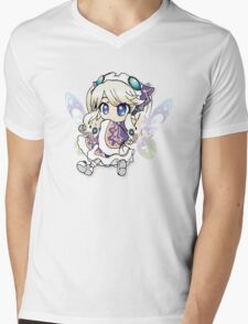 HyperDimension Neptunia Histoire Mens V-Neck T-Shirt