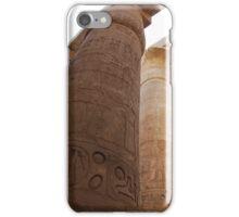 Great columns of Karnak Egypt iPhone Case/Skin